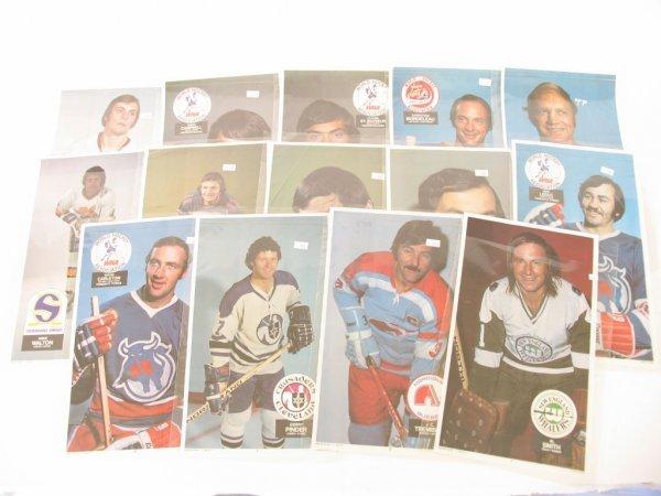 1020: 1973-74 World Hockey League O.P.C. Posters