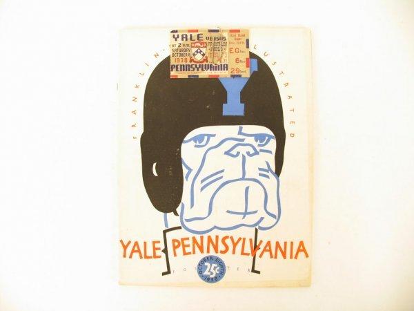 1024: Yale vs. Pennsylvania at Franklin Field Program