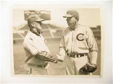 1101: Dizzy Dean & Gabby Hartnett Real Photo