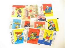 1170: Vintage Baseball, Hockey & More WRAPPERS