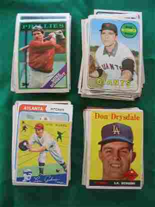 Huge Grouping Vintage, Star, Rookie Baseball Cards