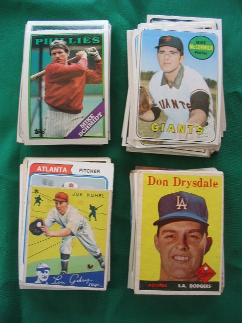 6: Huge Grouping  Vintage, Star, Rookie Baseball Cards
