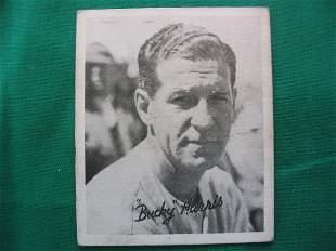 Bucky Harris 1936 Goudey Baseball Card