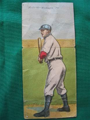 Elberfeld / McBride 1911 T201 Tobacco Card