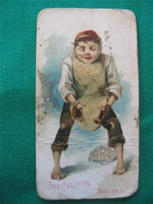 """""""Terrors of America"""" 1888 Duke's Cigarette Tobacco"""