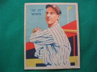 """Jo Jo"" White 1935 Diamond Stars Baseball Card"
