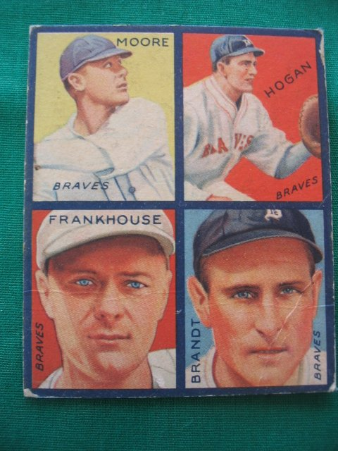 19: Fred Frankhouse 1935 Goudey Card