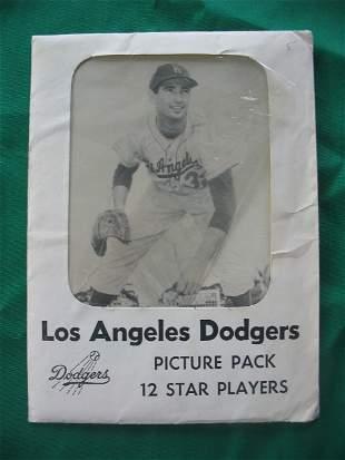 LA Dodgers Photo Picture Pack Set w/Envelope of 12