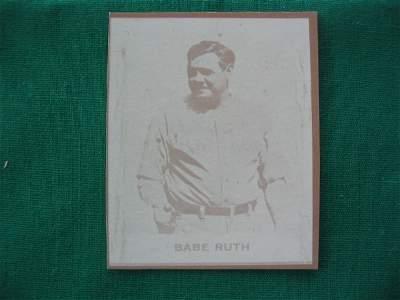 106: Babe Ruth 1931 Ray-O-Print Baseball Card
