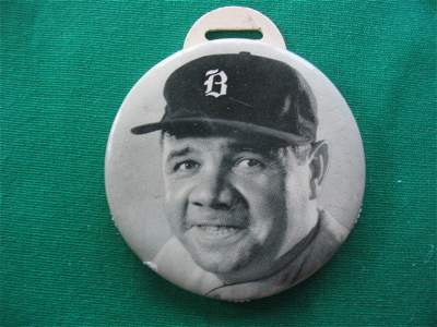 177: Babe Ruth Scorer c. 1935.  Boston Braves