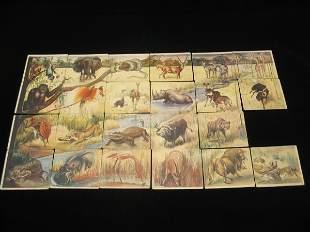 National Licorice Co. 1930's Animal Cards Set
