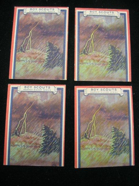 4021: 1933 Boys Scouts Goudey Gum Cards
