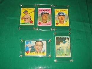 Vintage Brooklyn Dodger Player Baseball Cards