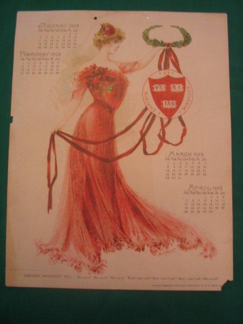 1006: Harvard University 1902 Maude Stumm Calendar