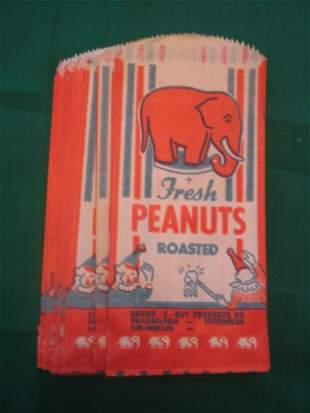 (25) Orig. Connie Mack Stadium Peanut Bags