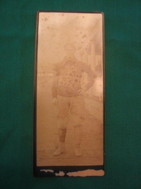1011: Princeton University Real Photo Football Player