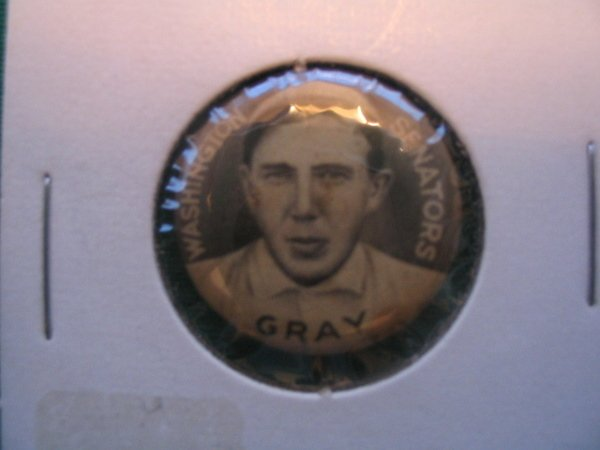 1014: Dolly Gray Sweet Caporal Tobacco P2 Pin c. 1910