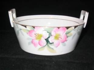Noritake Azalea Butter Tub w/Drain 5''