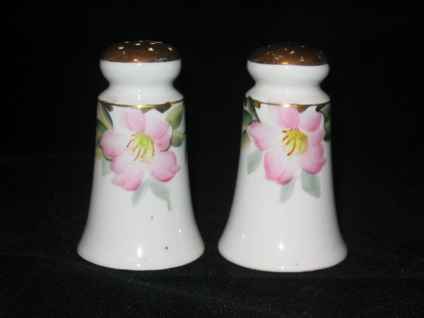 5005: Noritake Azalea Salt & Pepper Shakers, Tapered Be