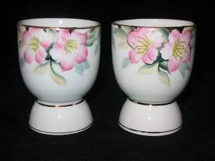 Noritake Azalea Pair of Egg Cups 3in.