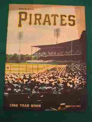 Pittsburgh Pirates 1966 Baseball Year Book