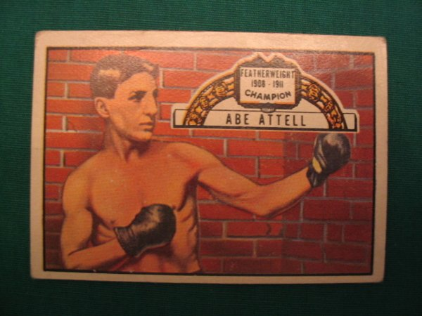 9: Abe Atell 1951 Ringside Boxing Card #60