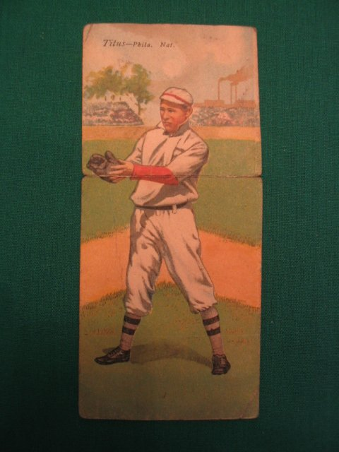 10: John Titus Chas. Dooin 1911 T201 Mecca Tobacco Card