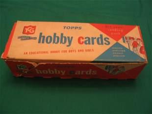 Empty Topps Baseball Hobby Card Vending Box c. 1959