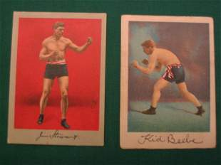 Stewart & Beebe 1910 Boxer Tobacco Cards