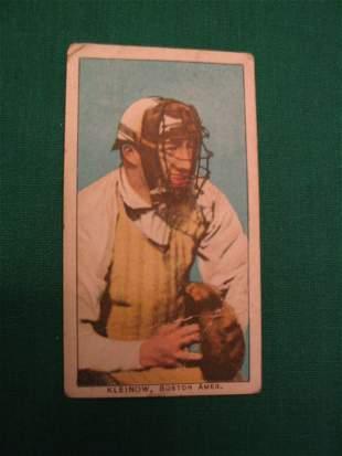 Red Kleinow T206 Baseball Card