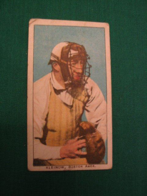 16: Red Kleinow T206 Baseball Card