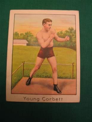 Young Corbett 1910 Boxer Tobacco Card