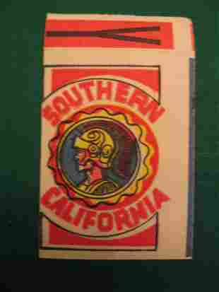 University of Southern California Patch Decal c. 19