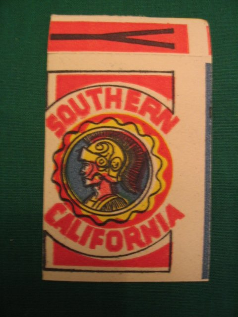 22: University of Southern California Patch Decal c. 19