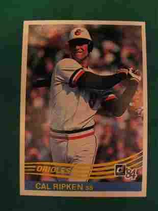 Cal Ripken 1984 Donruss Baseball Card
