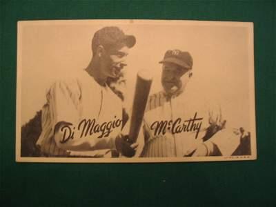 281: Joe DiMaggio/ Joe McCarthy 1936 Goudey  ROOKIE