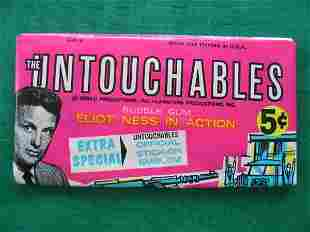 The Untouchables 1962 Unopened 5 Cent Pack