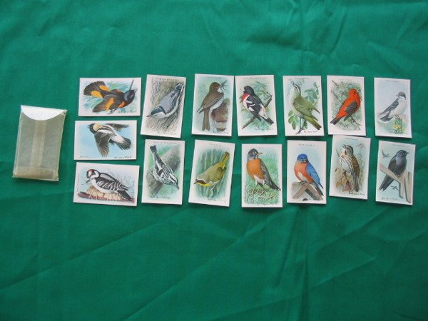 1015: Useful Birds of America Baking Soda  Cards c. 192