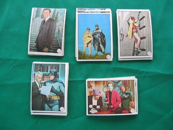 1016: Bat Laffs 1966 Complete Set of (55) Cards