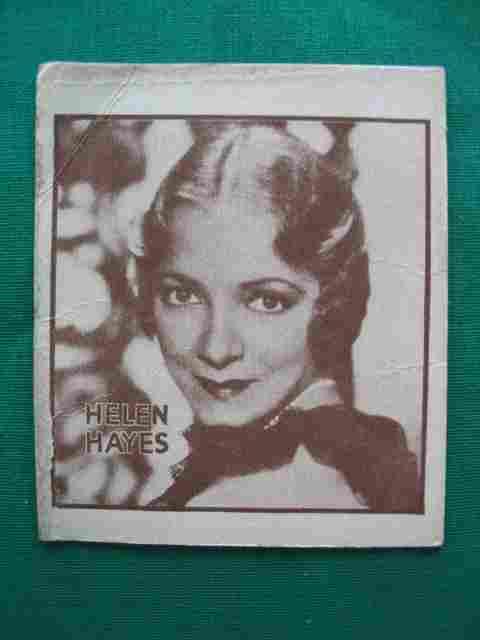 Helen Hayes Scarce 1930's Non-Sport Card