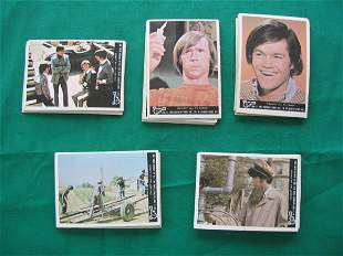 Monkees 1967 Complete Set of (44) Cards