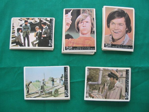 1021: Monkees 1967 Complete Set of (44) Cards