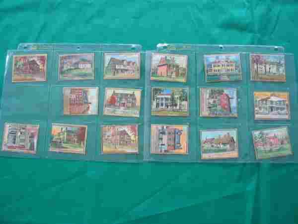 (17) Historic Homes Series Helmar Tobacco Card