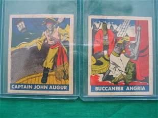 Pirate Bubble Gum Cards c. 1948
