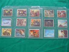 1027: Freedom's War Card Grouping of (12) c. 1951