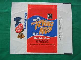 The Flying Nun 1967 Pack Wrapper