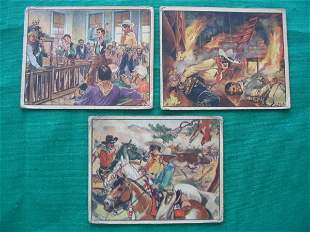 Lone Ranger Chewing Gum Cards (3)
