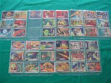 1056: Space Cards Topps Chewing Gum Partial Set