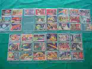 Space Cards Topps Chewing Gum Partial Set