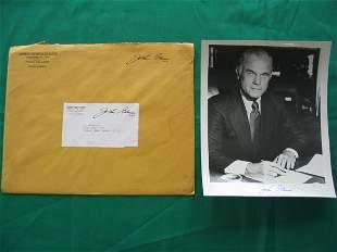 Senator John Glenn Vintage Autographed Photo